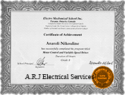 electrical licence